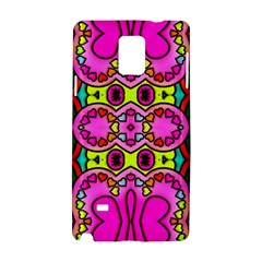 Love Hearths Colourful Abstract Background Design Samsung Galaxy Note 4 Hardshell Case