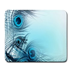 Feathery Background Large Mousepads