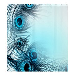 Feathery Background Shower Curtain 66  X 72  (large)