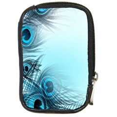 Feathery Background Compact Camera Cases