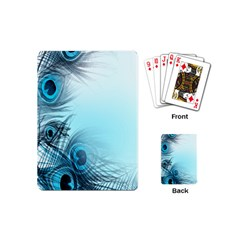 Feathery Background Playing Cards (mini)