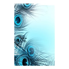 Feathery Background Shower Curtain 48  x 72  (Small)