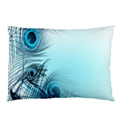 Feathery Background Pillow Case (Two Sides)