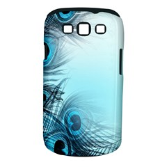 Feathery Background Samsung Galaxy S III Classic Hardshell Case (PC+Silicone)