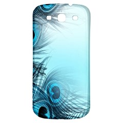 Feathery Background Samsung Galaxy S3 S III Classic Hardshell Back Case