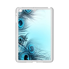 Feathery Background iPad Mini 2 Enamel Coated Cases