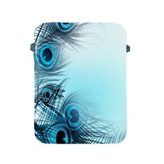 Feathery Background Apple iPad 2/3/4 Protective Soft Cases