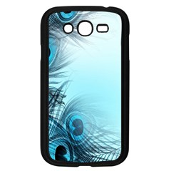 Feathery Background Samsung Galaxy Grand DUOS I9082 Case (Black)