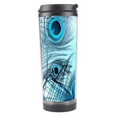 Feathery Background Travel Tumbler