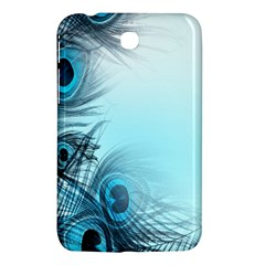 Feathery Background Samsung Galaxy Tab 3 (7 ) P3200 Hardshell Case