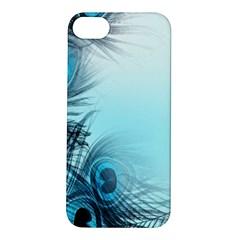 Feathery Background Apple iPhone 5S/ SE Hardshell Case