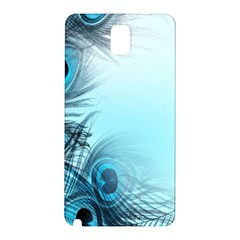 Feathery Background Samsung Galaxy Note 3 N9005 Hardshell Back Case