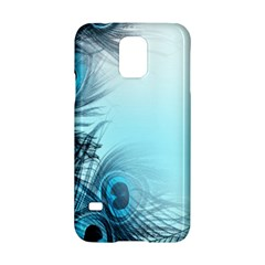 Feathery Background Samsung Galaxy S5 Hardshell Case