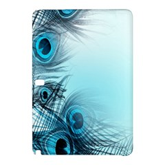 Feathery Background Samsung Galaxy Tab Pro 12 2 Hardshell Case