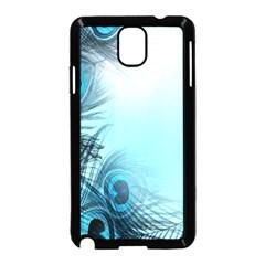 Feathery Background Samsung Galaxy Note 3 Neo Hardshell Case (black)