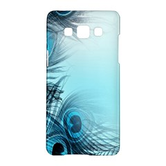 Feathery Background Samsung Galaxy A5 Hardshell Case