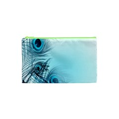 Feathery Background Cosmetic Bag (xs)