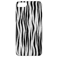 Black White Seamless Fur Pattern Apple iPhone 5 Classic Hardshell Case