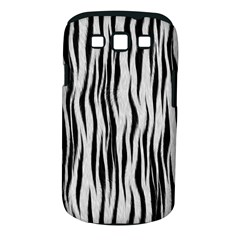Black White Seamless Fur Pattern Samsung Galaxy S III Classic Hardshell Case (PC+Silicone)