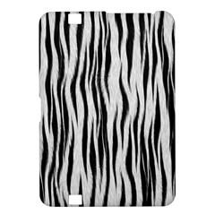 Black White Seamless Fur Pattern Kindle Fire HD 8.9