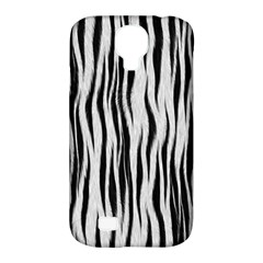 Black White Seamless Fur Pattern Samsung Galaxy S4 Classic Hardshell Case (PC+Silicone)