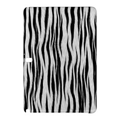 Black White Seamless Fur Pattern Samsung Galaxy Tab Pro 10.1 Hardshell Case