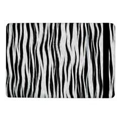 Black White Seamless Fur Pattern Samsung Galaxy Tab Pro 10.1  Flip Case