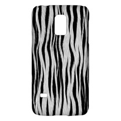 Black White Seamless Fur Pattern Galaxy S5 Mini