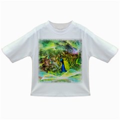 Peacock Digital Painting Infant/Toddler T-Shirts