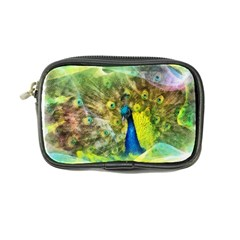 Peacock Digital Painting Coin Purse