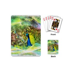 Peacock Digital Painting Playing Cards (mini)