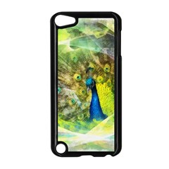 Peacock Digital Painting Apple iPod Touch 5 Case (Black)