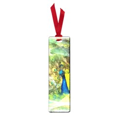Peacock Digital Painting Small Book Marks