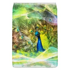 Peacock Digital Painting Flap Covers (L)