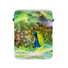 Peacock Digital Painting Apple iPad 2/3/4 Protective Soft Cases