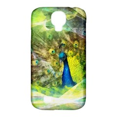 Peacock Digital Painting Samsung Galaxy S4 Classic Hardshell Case (PC+Silicone)