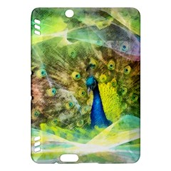 Peacock Digital Painting Kindle Fire HDX Hardshell Case