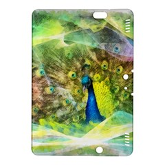 Peacock Digital Painting Kindle Fire HDX 8.9  Hardshell Case
