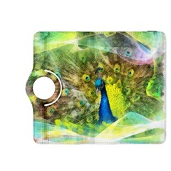 Peacock Digital Painting Kindle Fire HDX 8.9  Flip 360 Case