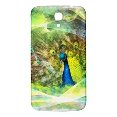 Peacock Digital Painting Samsung Galaxy Mega I9200 Hardshell Back Case