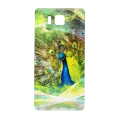 Peacock Digital Painting Samsung Galaxy Alpha Hardshell Back Case