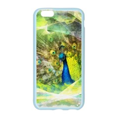 Peacock Digital Painting Apple Seamless iPhone 6/6S Case (Color)