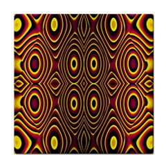 Vibrant Pattern Tile Coasters