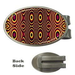 Vibrant Pattern Money Clips (oval)