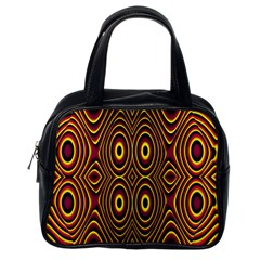 Vibrant Pattern Classic Handbags (One Side)