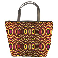 Vibrant Pattern Bucket Bags