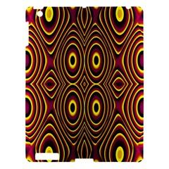 Vibrant Pattern Apple iPad 3/4 Hardshell Case