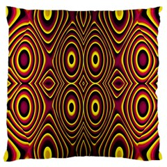 Vibrant Pattern Large Cushion Case (One Side)