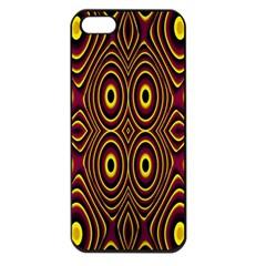 Vibrant Pattern Apple iPhone 5 Seamless Case (Black)