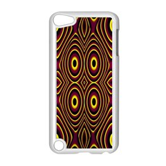 Vibrant Pattern Apple iPod Touch 5 Case (White)